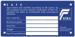 ecbs label wertschutzschrank
